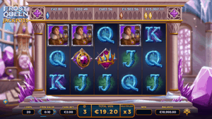 Frost Queen jackpot free spins